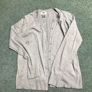 Grey Old Navy Cardigan